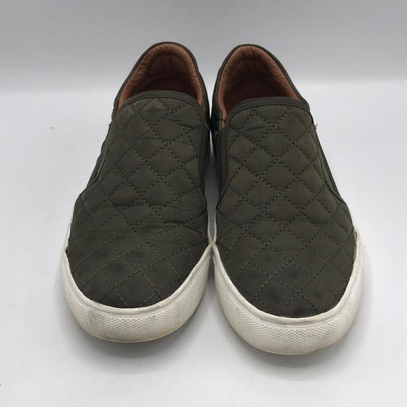 Steve Madden Olive Green Ellen Sneakers
